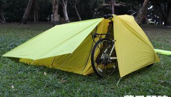 蘋果日報專訪 - 超輕單車帳篷 紅點獎發光